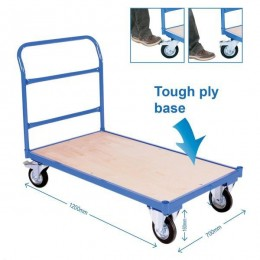 Heavy Duty Flatbed Trolley - HI1118