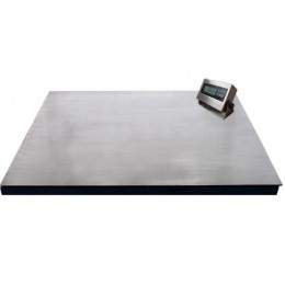 Platform Scale with A12SS indicator 1200mm x 1200mm 1000KG - 2000KG