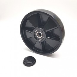 PT Steer Wheel Black Polyurethane including bearings with 20mm core