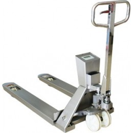 Pallet Truck HPS2CE Stainless Steel Weigh Scale 550mm x 1150mm 2000KG x 1KG