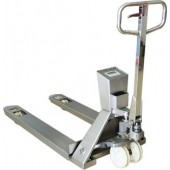 STAINLESS STEEL WEIGH SCALE PALLET TRUCK
