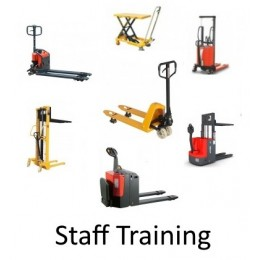 Staff Training for Semi Electric Pallet Trucks / Powered Pallet Trucks