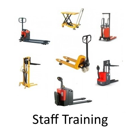 Staff Training for Hand Pallet Trucks / High Lifters / Lift Tables