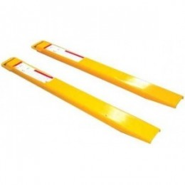 Special Offer Forklift Fork Extensions EXT596 125mm x 2435mm Reduced by 10% Due to Light Scratches