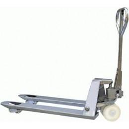 Special Offer Pallet Truck PT-GAL1 Galvanized 550mm x 1150mm 2000KG Ex-Demonstration