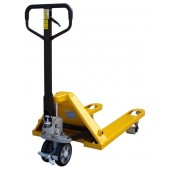 Special Offer Pallet Truck PT-10 Foot Brake Euro 550mm x 1150mm 2500KG Due to Light Scratches