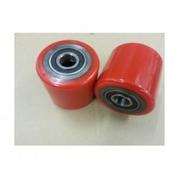PT Load Rollers Red Polyurethane including Bearings with 20mm Core in Packs of 2 Rollers or in Pack of 4 Rollers