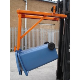 Fork Mounted Wheelie Bin Lifter/Tippler