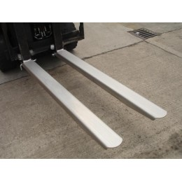 Forklift Fork Extensions IFE-448 100mm x 1220mm Stainless Steel Grade 304