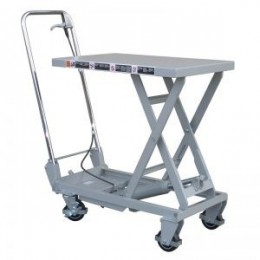 Aluminium Mobile Scissor Lift Table 100KG