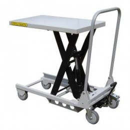 Aluminium Mobile Scissor Lift Table 150KG
