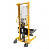 Pallet Stacker MBS0031 Manual Adjustable Fork Stacker 1.6M Lift 1500KG