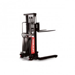 Semi Electric Stacker SPN1035A - Adjustable Straddle Legs