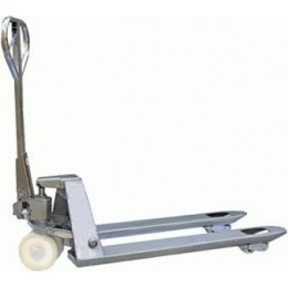 HEAVY DUTY 2.5T STAINLESS STEEL PALLET TRUCK STA-02