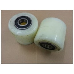 PT Load Rollers White Nylon including Bearings with 20mm Core in Packs of 2 Rollers or in Pack of 4 Rollers