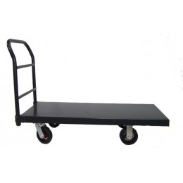 Heavy Duty Metal Flatbed Trolley - HI3007