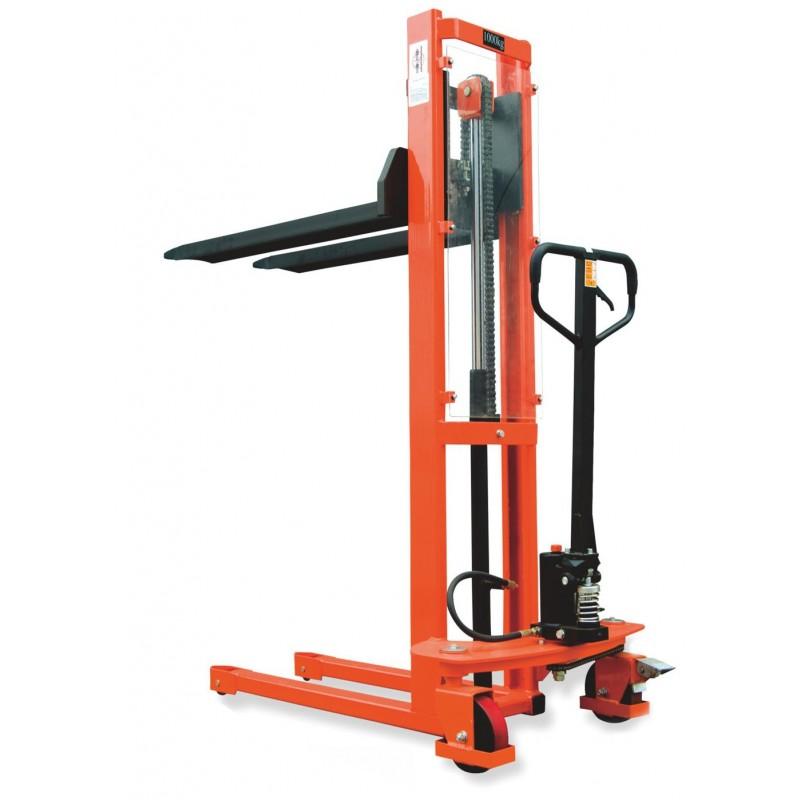 Standard Manual Hydraulic Stacker Fc 1016 1 5m Lift 1000kg