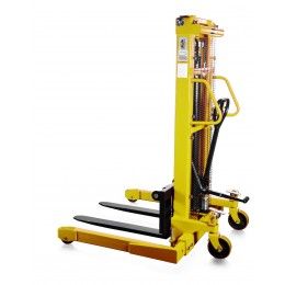 Straddle Leg Stacker SFH-1030AG 3M Lift 1000KG with Hand and Foot Pump