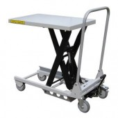 Aluminium & Part Stainless Lift Tables